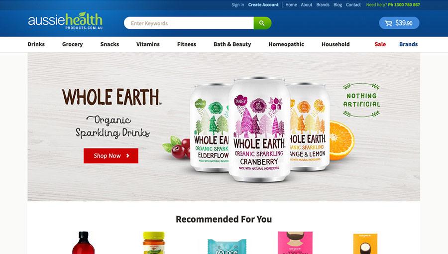 Aussie Health Products Organic Health Food Store Australia